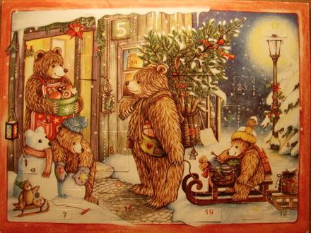 The_bear_family_advent_calendar